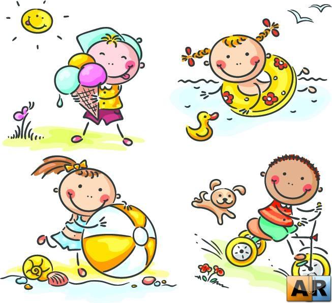летние каникулы картинки для детей