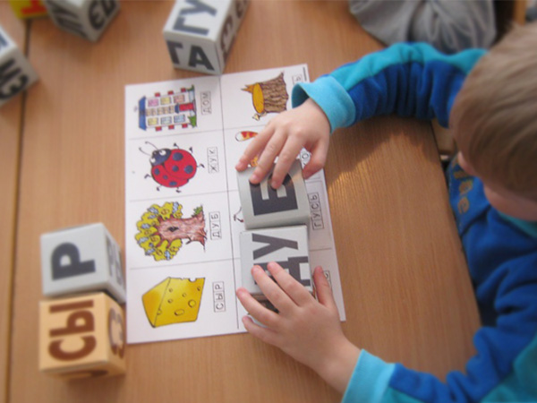 Кубики для чтения примеры работы